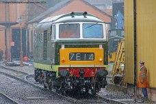 Class 35 Diesel Hymek r/n D7018 - Location 2