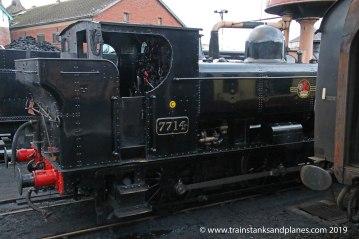 57xx Class 0-6-0PT r/n 7714 - Location 2