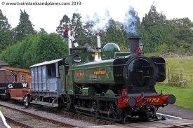 57xx Class 0-6-0PT r/n 7752 - Location 7