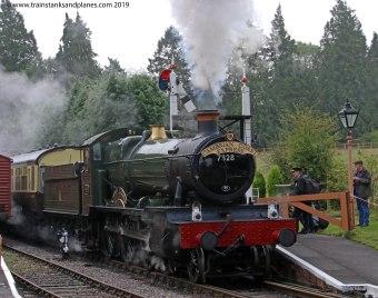 78xx Class 4-6-0 Odney Manor - Location - 7