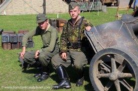 German 7.5cm PAK gun crew - WW2
