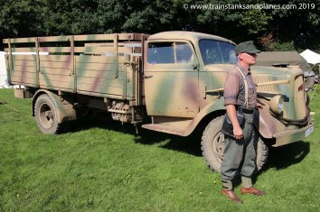 German Opel Blitz truck - WW2