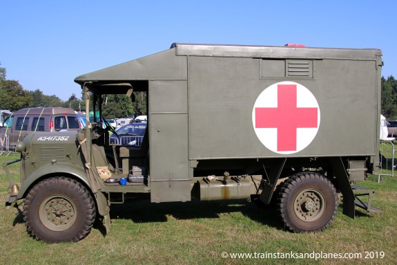 British Austin K2 ambulance - WW2