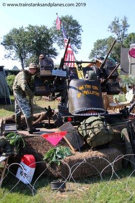 """American .5"""" AA turret - Vietnam"""
