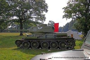 Soviet T-34 / 85 tank - WW2