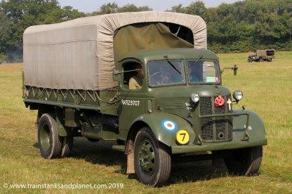 British Austin K3 truck - WW2