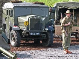 Morris Commercial Mk III No 5 Tractor 4x4 field artillery tractor - British