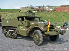International built version of the M3 half-track, designated as an M9A1 - American