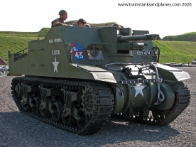 Sexton 25pdr self-propelled artillery - British