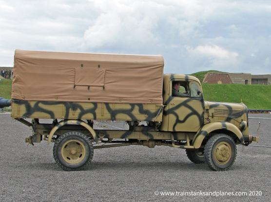 Mercedes truck - German