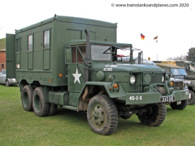 Kaiser Jeep Corp REO M35 with M109 Shop Van body - American, c1950s