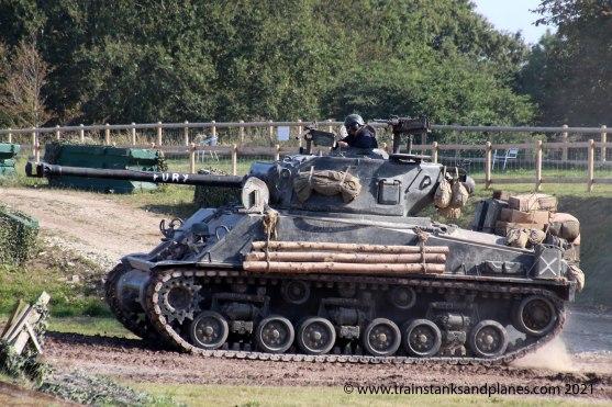 """M4A2 Sherman """"Fury"""""""