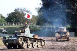 Type 95 Ha Go & M3 Stuart